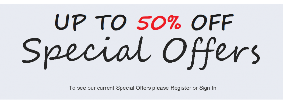 Sign in to see our specials